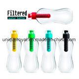 Бутылка воды бутылки фильтра выпивая