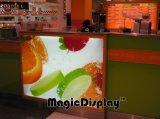 La publicité lumineuse à LED SNAP Frame Boîte à lumière