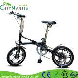 16 Inch Carton Steel Adulto leve leve Mini bicicleta dobrável