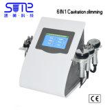 6 en 1 liposuccion ultrasonique vide de cavitation RF Machine de beauté bio photons minceur