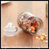 Frasco reto desobstruído/frasco de vidro dos doces