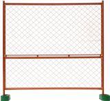 Горяч-Окунутая гальванизированная загородка сетки сварки временно