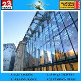12mm Высокое качество Коммерческое и жилое здание, Занавес стены Офисное здание Двойная стеклянная стена