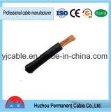 Cable flexible de la soldadura (10-185mm2) y cuerda del cableado
