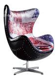 Cadeira clássica moderna do ovo do aviador da réplica