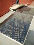 De Bladen van het triplex in Beton worden gebruikt die zich in Bouw (het malplaatje dat van de Bouw) vormen