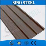 Teja de chapa de acero corrugado prepintada para el edificio