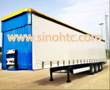 40 tonnellate degli Tri-Assi del PVC di rimorchio della tenda