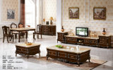 Europa muebles, Muebles de Salón Real, Mesa De Café, soporte de TV (1502)