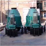 Вертикальная центробежка используемая для запитка угля, запитка соли