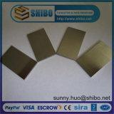 Pure 99,95% Folha de tungstênio, placa de tungstênio
