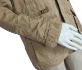 Espessura de Inverno masculina Jaqueta Militar Quente Full-Zip Outcoat Faux Revestidos de peles com pêlo