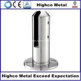Balustrade d'acier inoxydable et broche en verre