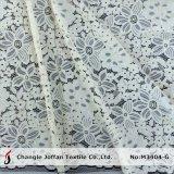 Tissu italien en dentelle en cordon de haute qualité pour robes (M3404-G)
