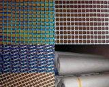 Het Concrete Netwerk van de vezel, Versterkt Netwerk 1X50m van de Glasvezel Blauwe Kleur 160GSM 5X5mesh