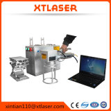 Jinan-Faser-Laser-Markierungs-Maschine mit Drehtisch 20W