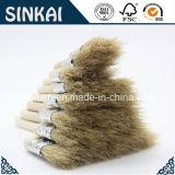Weißes Bristle Chip Brushes mit Wood Handle