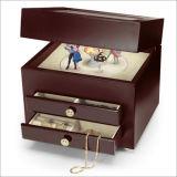 折り返しのビロードの袋の宝石類のパッキングおよび化粧箱の袋
