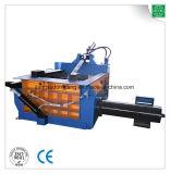 Tipo hidráulico hierro de acero de aluminio poste que recicla la máquina