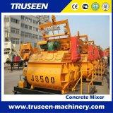 Js500 de Hete Concrete Mixer van het Type van Hijstoestel van de Emmer van de Lading van de Verkoop Zelf