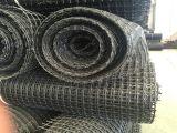 Polyester Tweeassige die Geogrid in China wordt gemaakt