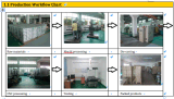 CNC в металле обрабатывая часть машинного оборудования