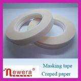 De rubber Zelfklevende Maskerende Band van het Crêpepapier