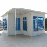 Construcción modular / prefabricada / prefabricada con panel de sándwich de acero color