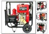La bomba de fuego centrífuga de alta presión del motor diesel empuja la bomba manualmente a diesel