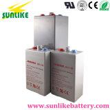 Pilha recarregável 2V2000ah Opzv Bateria de gel para a energia solar
