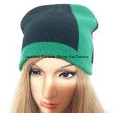 Beanie de l'hiver de broderie et chapeau faits sur commande faits sur commande de mode de sports