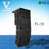 10 FL مزدوج الخط 10inch لصفيف نظام PA الصوت صوت