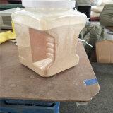 Colore bianco dell'aglio tritato in vaso della plastica 5pound