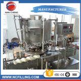 Máquina de rellenar líquida caliente de la poder de estaño del jugo