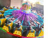 2018 Nuevo diseño de juegos equipos Ride vuelo girando la rueda de atracciones para la venta caliente