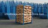 Pálete de empilhamento de aço resistente do armazém da alta qualidade