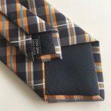 Cravatte tessute nuovo poliestere di disegno di modo degli uomini (L046)