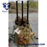 DDS 90W軽量のIed GPS UHF VHFの妨害機