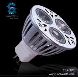 luce del punto 3W, lampada, Lighting&Lights (C2-MR16-3*1W)