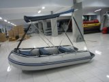 Sonnenschutz Inflatable Fishing Boat mit Canopy