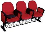 Carcasa de plástico de tamaño pequeño cine silla para sentarse con alambre cesta