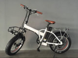 리튬 건전지를 가진 20 인치 Foldable 뚱뚱한 타이어 전기 자전거