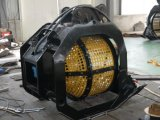 Cubeta de giro da tela de 360 graus para a máquina escavadora