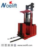 Singola raccoglitrice elettrica di ordine del cestino 1000kg 3.0m-4.5m dell'elevatore dell'uomo