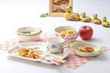 100% Plate 4-dividida de melamina Dinnerware- cabrito / Dish Bebé (NBG802)