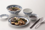 Bacia de sopa da série de Gai Ming da melamina/bacia de arroz (GM12139)
