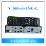 Zgemmaの星H2のLinux Enigma2 HD DVB-S2 DVB-T2/Cデジタルのコンボの受信機