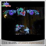 屋外のモチーフのクリスマスの装飾商業LEDの街灯