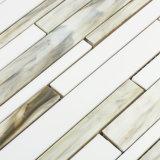 Водоструйная мозаика цветного стекла плиток строительного материала