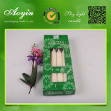 La maison mire le fournisseur bon marché de bougies de blanc de cire